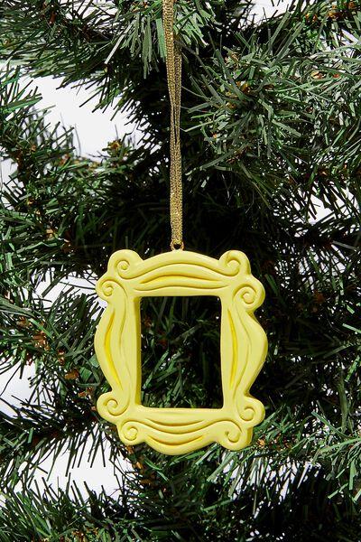Resin Christmas Ornament, LCN WB FRIENDS FRAME