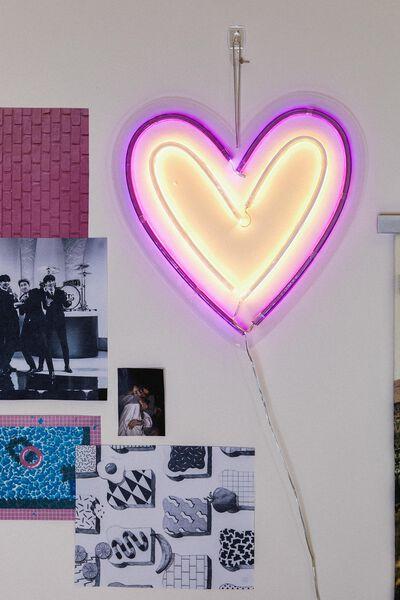 Led Wall Light, TWO TONE HEART