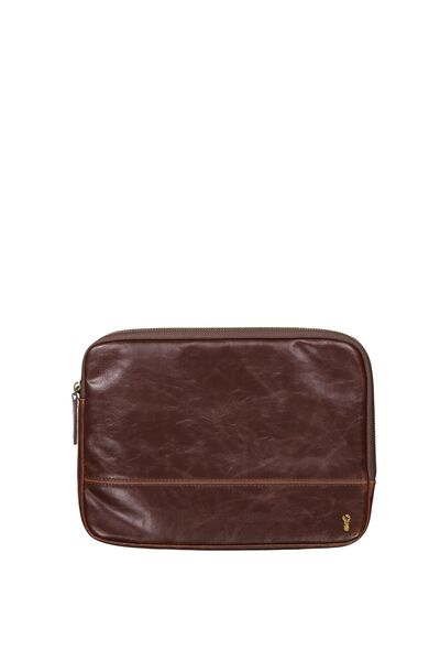 Buffalo Tablet Case, RICH TAN
