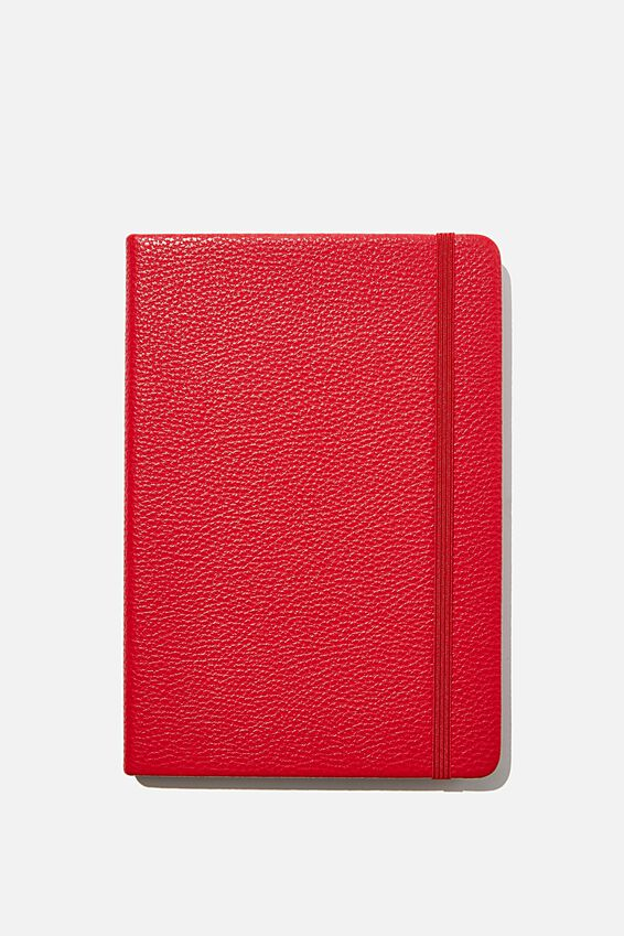"A5 Buffalo Journal (5.8"" x 8.2""), RED"