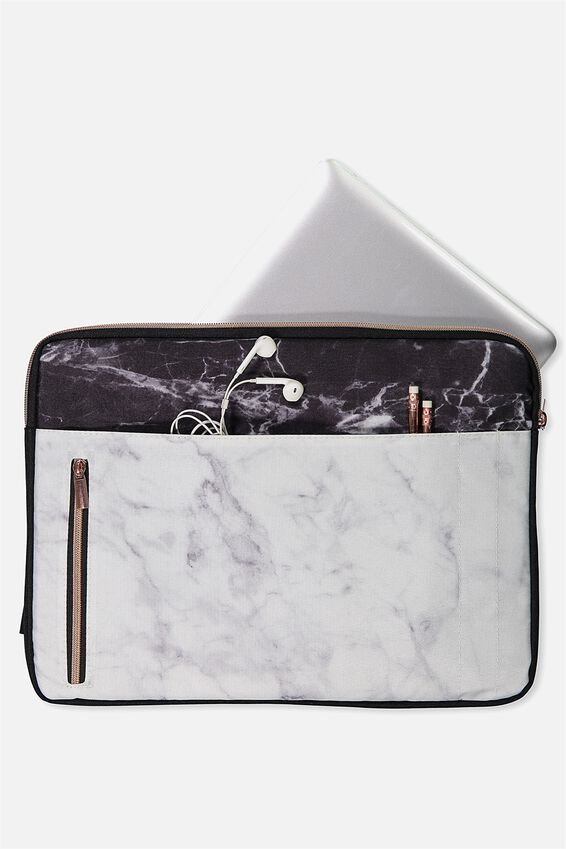 Take Charge 15 Inch Laptop Cover, MARBLE