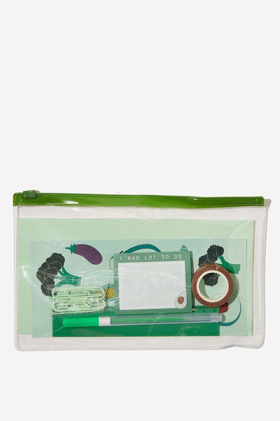 Stationery Essentials Pack, GO GREEN AVOCADO