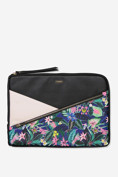 Premium Laptop Case 15 Inch, RESORT FLORAL