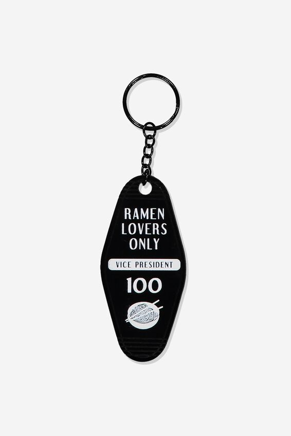 Hotel Keyring, RAMEN LOVERS ONLY