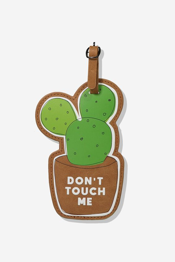 Shape Shifter Luggage Tag, CACTUS