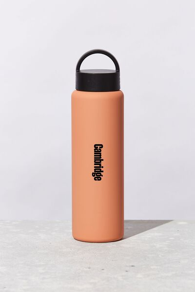 Gotta Go Metal Drink Bottle Personalised, PEACH