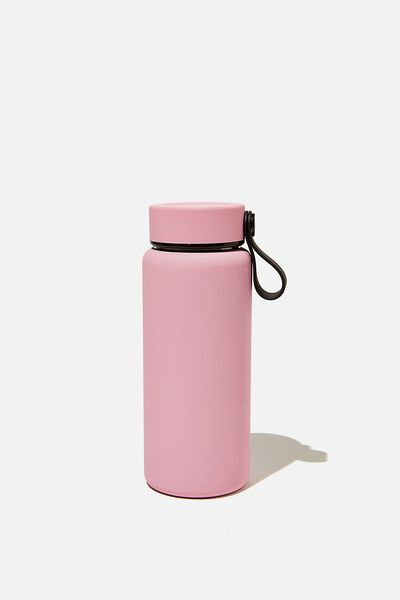 On The Move Metal Drink Bottle 350Ml, PLASTIC PINK