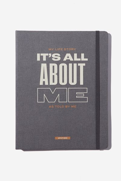 Large Premium Activity Journal, ALL ABOUT ME
