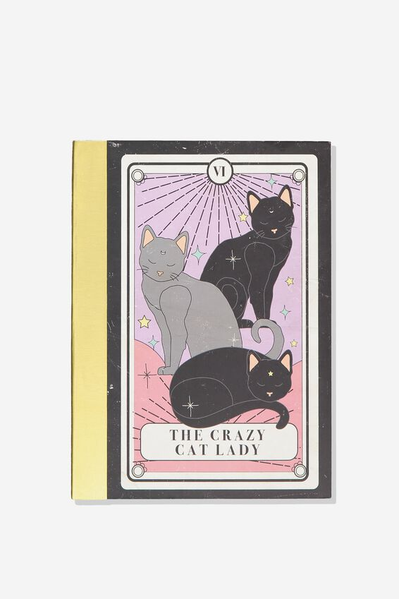 A5 Graduate Journal, CAT LADY