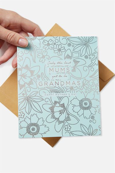 Mothers Day Cards 2018, MUMS GRANDMAS