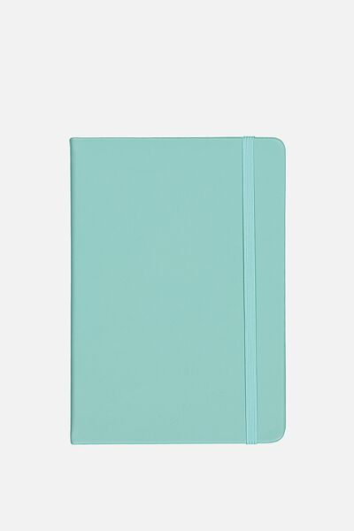 A5 Blank Buffalo Journal, BLUE