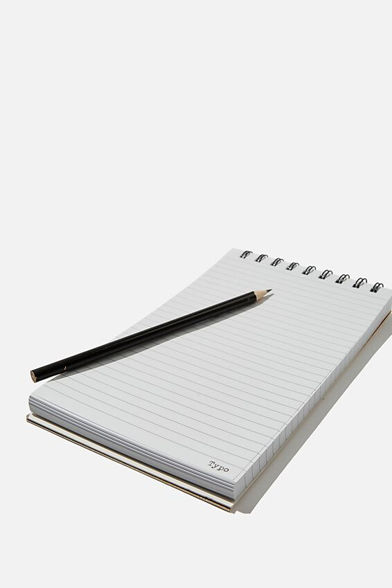 Flipout Notepad Recycled, KILLER IDEAS MUSTARD