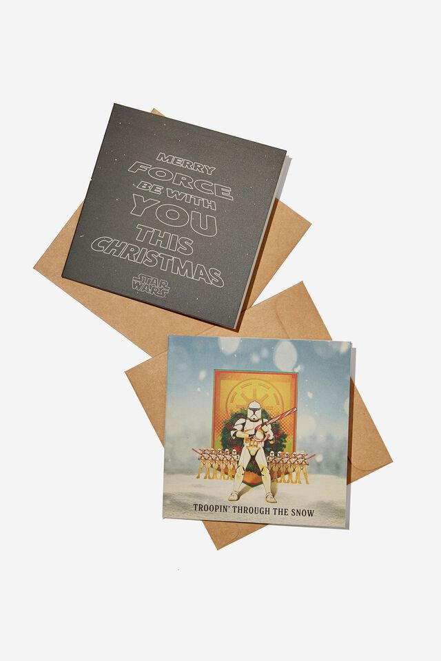 Star Wars Christmas Card 20 Pack, LCN LUC STAR WARS