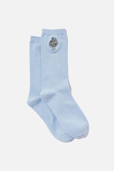 Socks, WOMAN SYMBOL