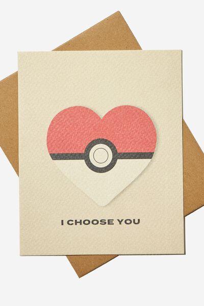 Love Card, LCN POKEMON POKEBALL