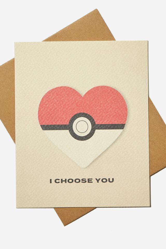 Pokemon Love Card, LCN POKEMON POKEBALL
