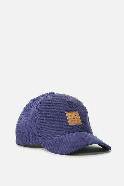 Novelty Caps, NAVY CORD