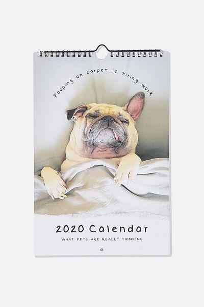 2020 Get A Date Calendar, DOGS