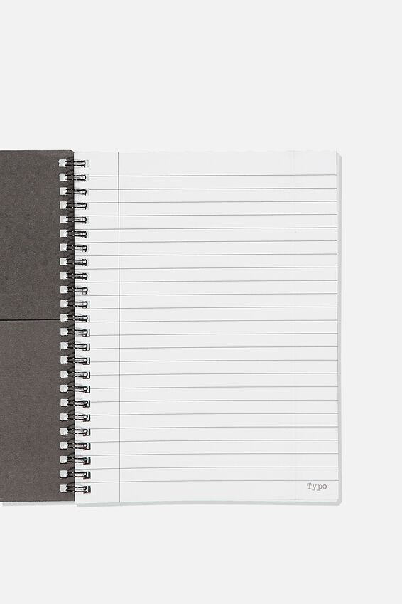 Biggie Smalls A5 Spinout Notebook Recycled, LCN MT BIGGIE SMALLS