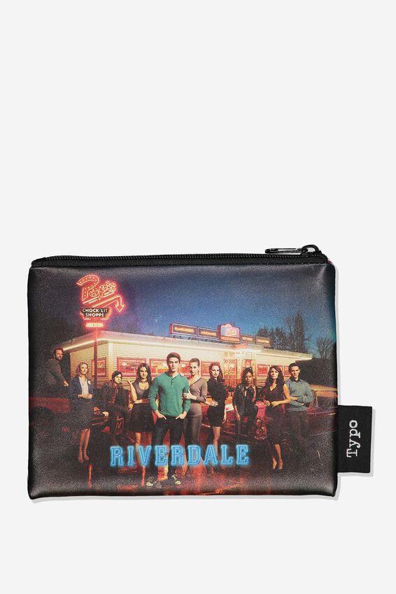 Riverdale PU Campus Pencil Case, LCN WB RIVERDALE GROUP