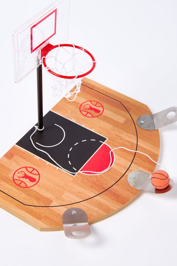 Desktop Basketball Circle Game, MULTI