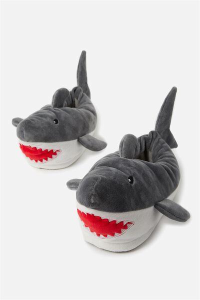 Novelty Slippers, SHARKS