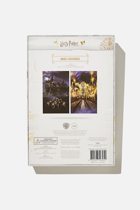 1000 Piece Double Sided Puzzle, LCN WB HARRY POTTER