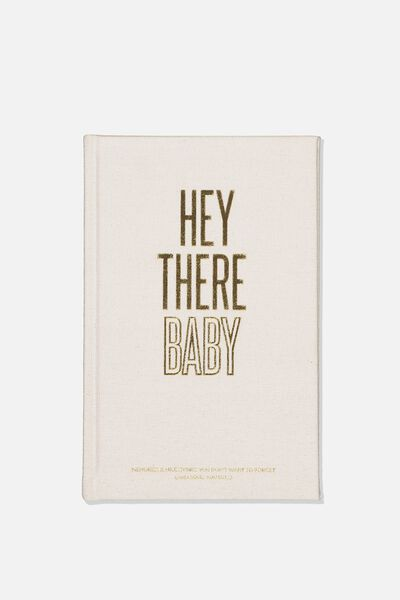 A5 Activity Book, HEY THERE BABY