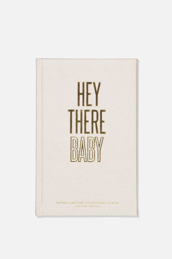 A5 Baby Activity Book, HEY THERE BABY