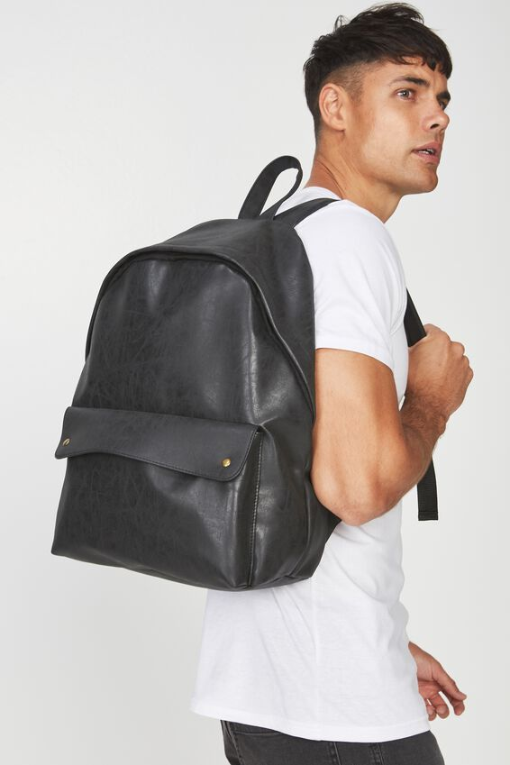 Austin Backpack, BLACK STUD