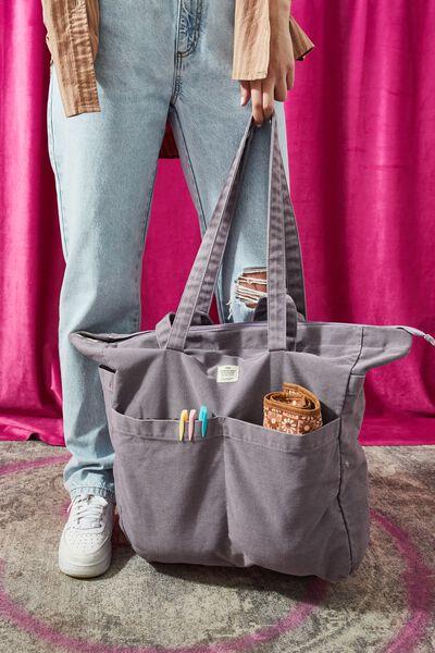 The Studio Tote Bag, LAVENDER