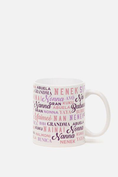 Anytime Mug, WORLDLY GRAN MAUVE