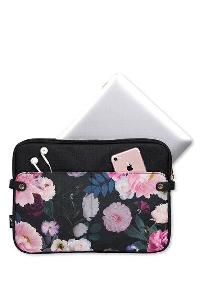 Varsity Laptop Case 13 Inch, FILTERED FLORAL