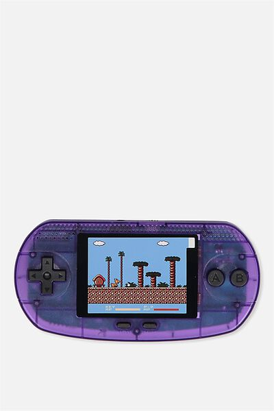 Vintage Gamer, PURPLE TRANSPARENT