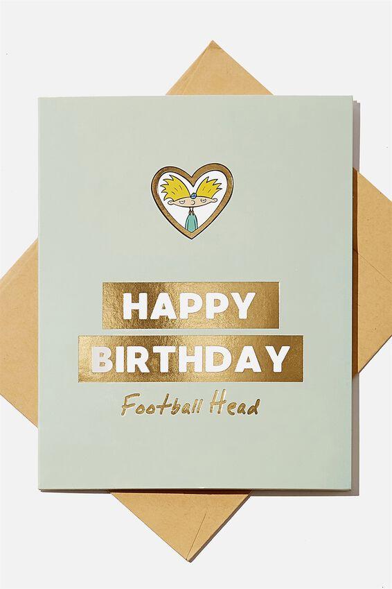 Hey Arnold Nice Birthday Card, LCN NIC HA HAPPY BIRTHDAY