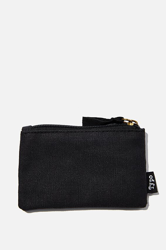 Coin Purse, WASHED BLACK