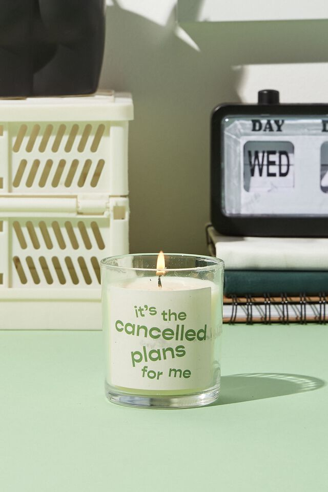 Talk To Me Candle, CANCELLED PLANS