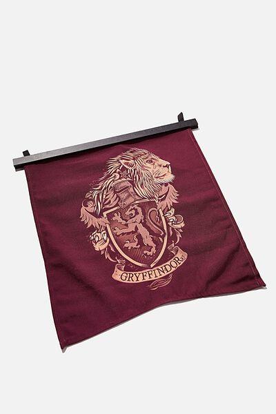 Banner Wall Flag, LCN WB HP GRYFFINDOR