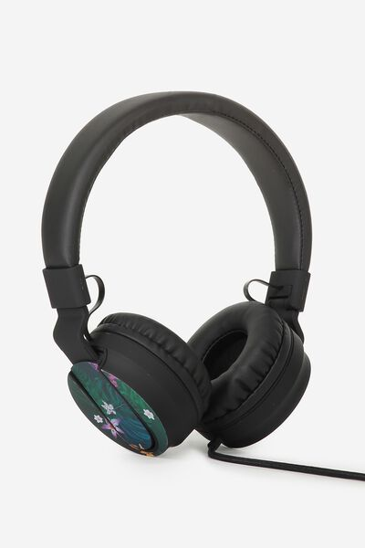 Frequency Headphones, JUNGLE FLORAL