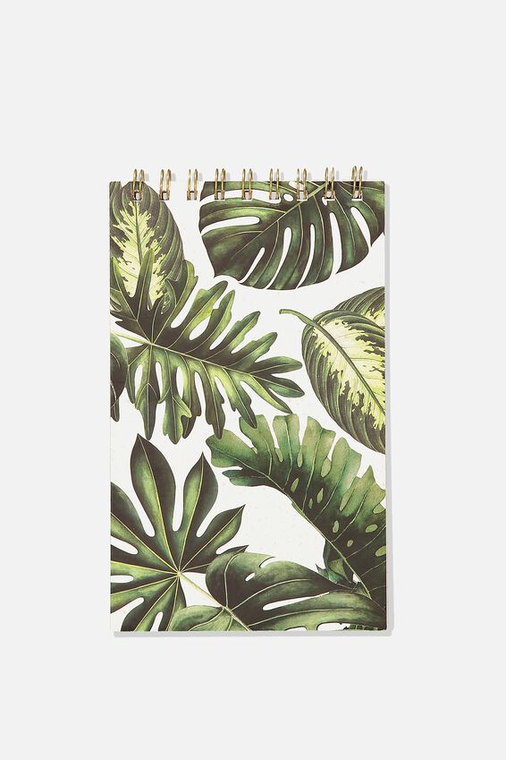 Flipout Notepad, MONSTERA LEAF