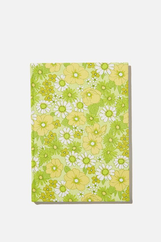 A5 Oxford Notebook, JONI FLORAL CITRINE