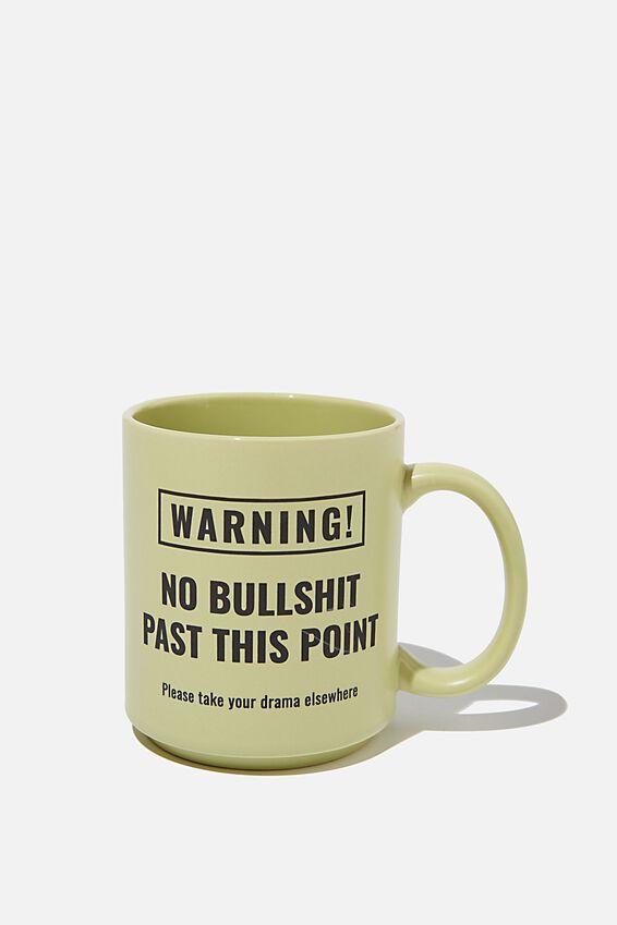 Daily Mug, WARNING!!