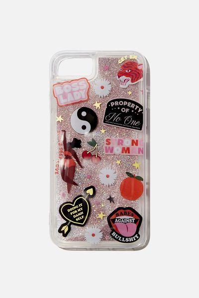 Shake It Phone Case Universal 6,7,8, BOSS LADY