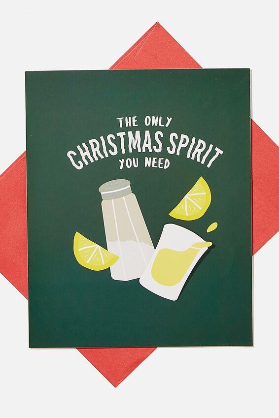 Christmas Card 2020, BOBBLE CHRISTMAS SPIRIT!