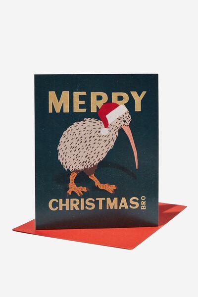 Christmas Card 2021, RG NZ MERRY CHRISTMAS KIWI