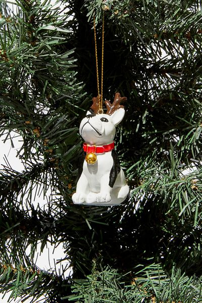Christmas Ornament, REINDEER FRENCHIE