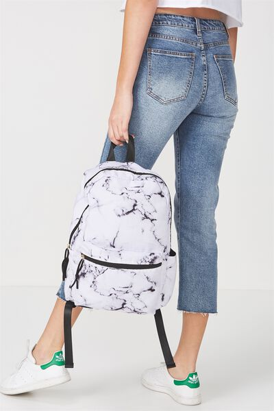 Student Backpack, MARBLE