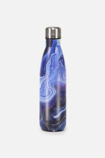 Metal Drink Bottle, MOON MARBLE