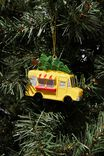 Resin Christmas Ornament, FOOD TRUCK