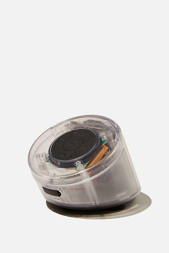 Wireless Shower Speaker, PREMIUM A.T. TRANSLUSCENT